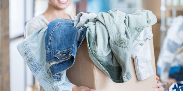 Find a donation bin - Le Support | Collects of clothing and