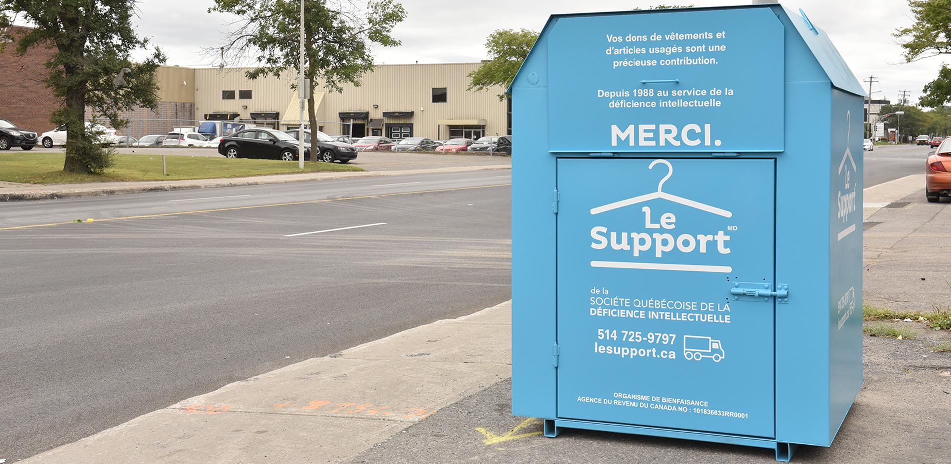 Find A Donation Bin Le Support Collecte De Vetements Et D Objets